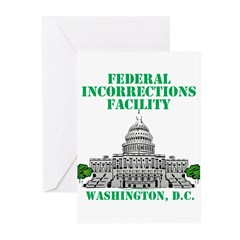 Incorrections Facility Greeting Cards (Pk of 10)