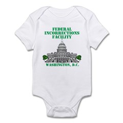 Incorrections Facility Infant Bodysuit