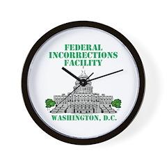 Incorrections Facility Wall Clock