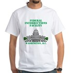 Incorrections Facility White T-Shirt