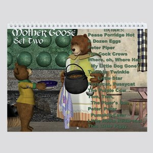 Mother Goose (Set Two) Wall Calendar