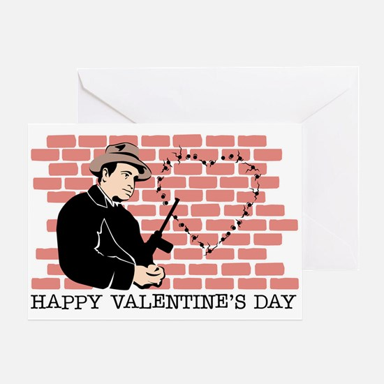 St. Valentine's Day Massacre Greeting Card