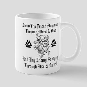Show Thy Friend Eloquence 11 oz Ceramic Mug