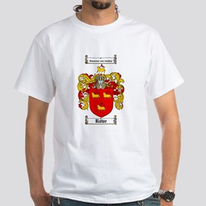 Rowe Coat of Arms White T-Shirt