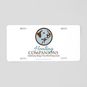 Healing Companions Aluminum License Plate