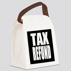 Tax Refund Canvas Lunch Bag