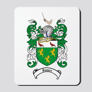 Rooney Coat of Arms Mousepad