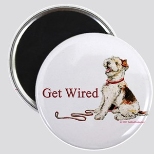 Wire Fox Terrier Dog Walk Magnet