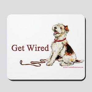 Wire Fox Terrier Dog Walk Mousepad