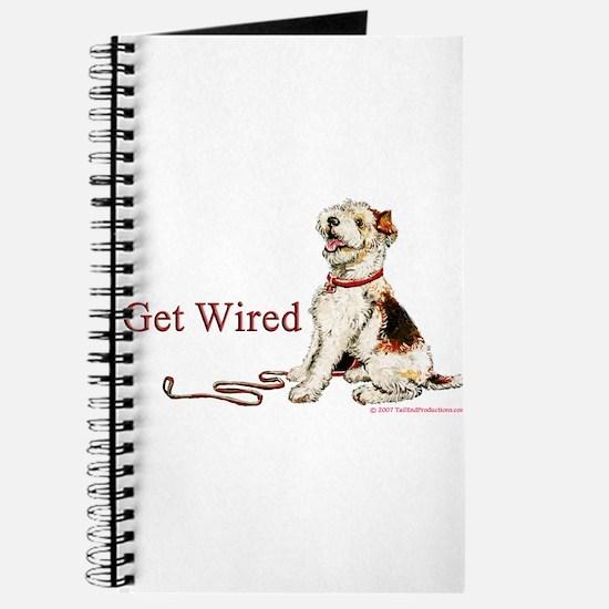 Wire Fox Terrier Dog Walk Journal