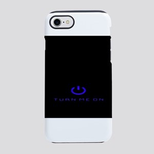 Turn Me On Blue iPhone 8/7 Tough Case