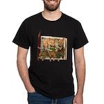 The Three Little Pigs Dark T-Shirt