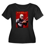 Death's Violinist Women's Plus Size Scoop Neck Dar