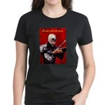Death's Violinist Women's Dark T-Shirt