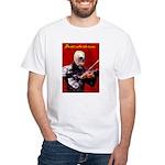 Death's Violinist White T-Shirt
