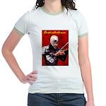 Death's Violinist Jr. Ringer T-Shirt