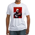 Death's Violinist Fitted T-Shirt