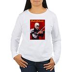 Death's Violinist Women's Long Sleeve T-Shirt