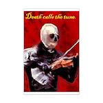 Death's Violinist Mini Poster Print