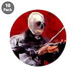 "Death's Violinist 3.5"" Button (10 pack)"