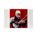 Death's Violinist Rectangle Magnet (100 pack)
