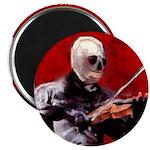 """Death's Violinist 2.25"""" Magnet (100 pack)"""