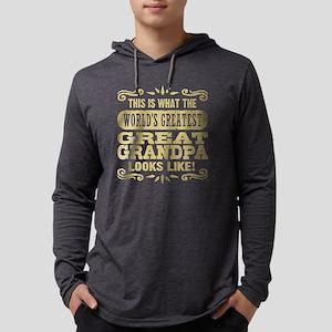 Great Grandpa Mens Hooded Shirt
