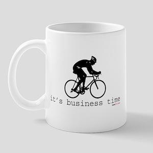 It's Business Time Cyling Mug