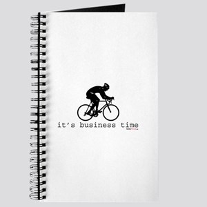 It's Business Time Cyling Journal