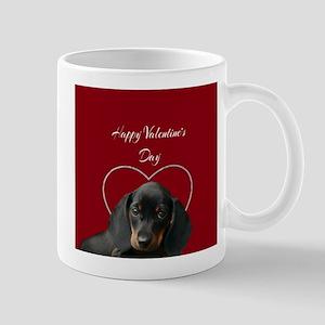 Valentines Dachsund Mugs