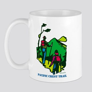 """""""Pacific Crest Trail Hikers"""" Mug"""