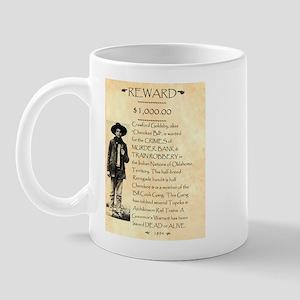 Wanted Cherokee Bill Mug