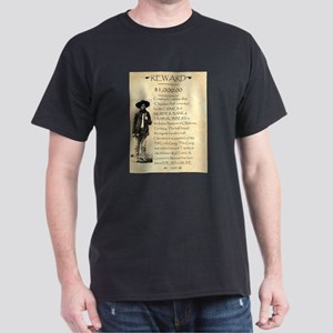 Wanted Cherokee Bill Dark T-Shirt