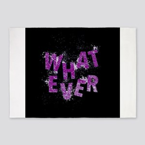 Purple Whatever 5'x7'Area Rug