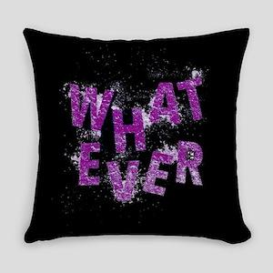 Purple Whatever Everyday Pillow
