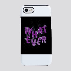 Purple Whatever iPhone 8/7 Tough Case