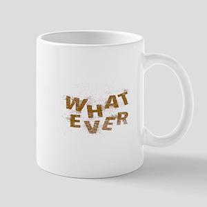 Brown Whatever  Mugs