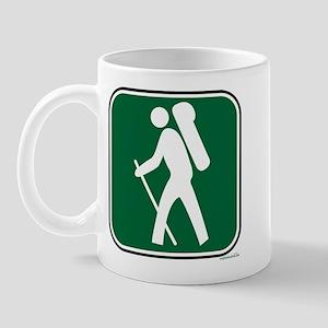 """Pacific Crest Trail Hiker"" Mug"