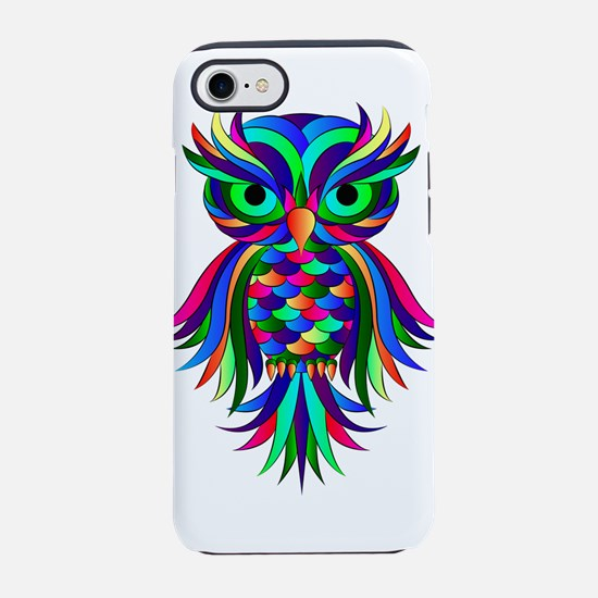 Owl Design iPhone 8/7 Tough Case