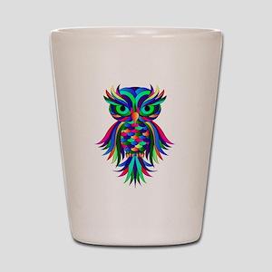 Owl Design Shot Glass