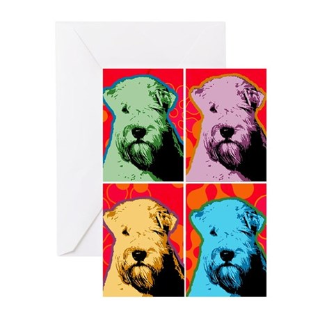 Wheaten Pop Art Greeting Cards (Pk of 20)