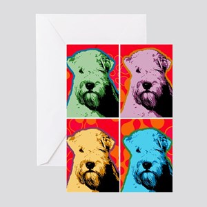 Wheaten Pop Art Greeting Cards (Pk of 10)