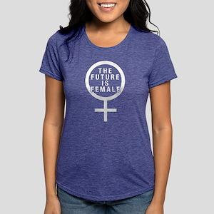 The Future Is Female Women's Dark T-Shirt