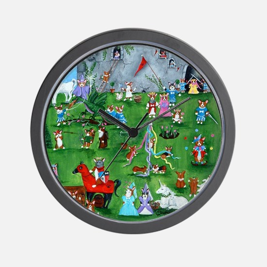 Corgilot Pembroke Welsh Corgi Wall Clock