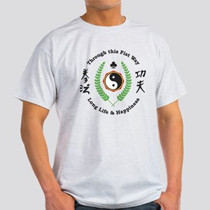 Kajukenbo Crest Light T-Shirt