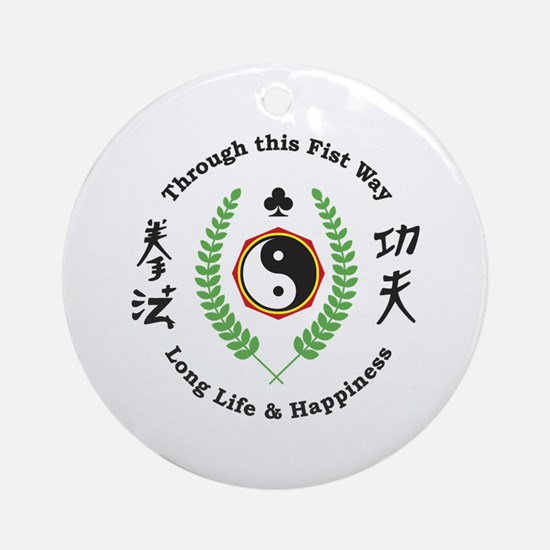 Kajukenbo Crest Ornament (Round)