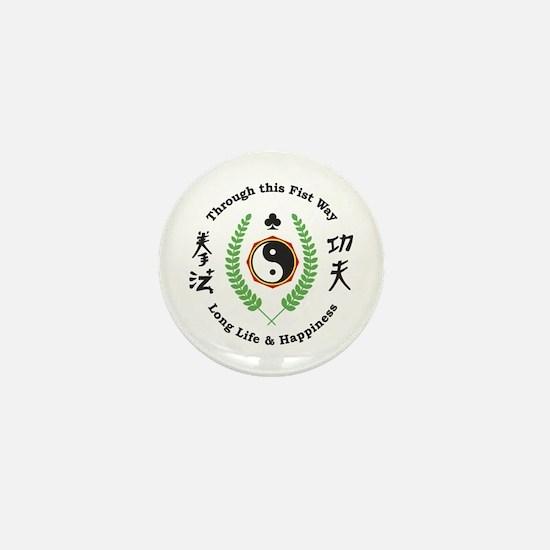 Kajukenbo Crest Mini Button