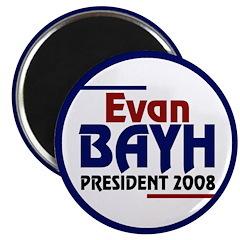 Evan Bayh President 2008 (10 magnets)