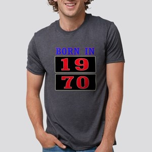 Born In 1970 Mens Tri-blend T-Shirt