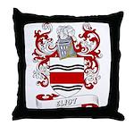 Eliot Coat of Arms Throw Pillow